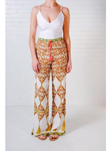 Pants Mosaic print pants