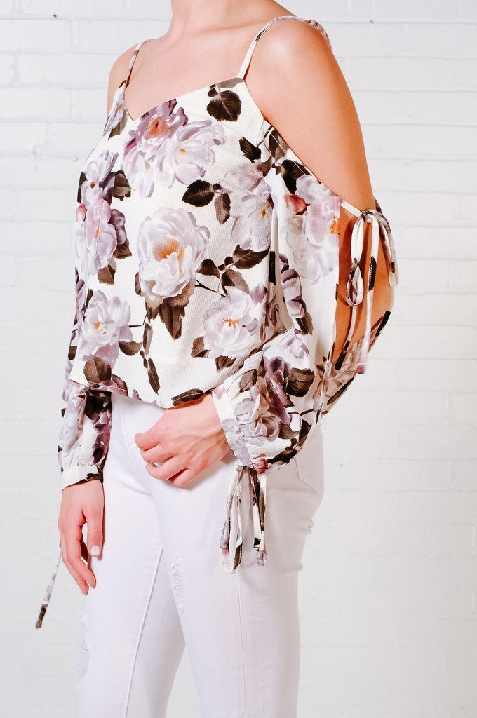Blouse Tie sleeve blouse