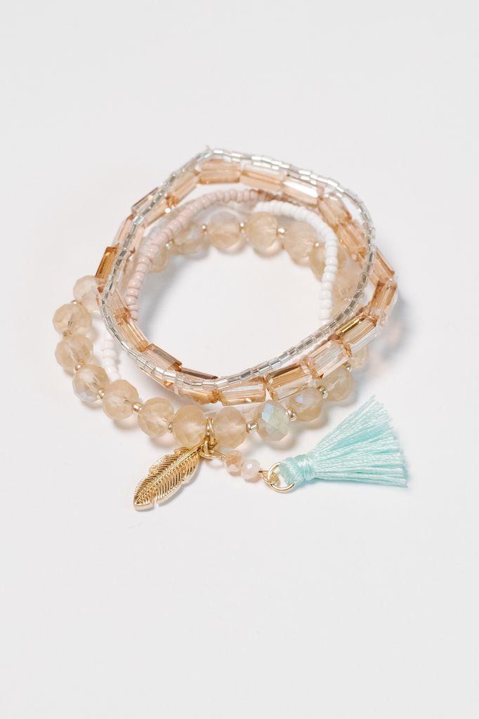 Trend Beaded multi bracelets