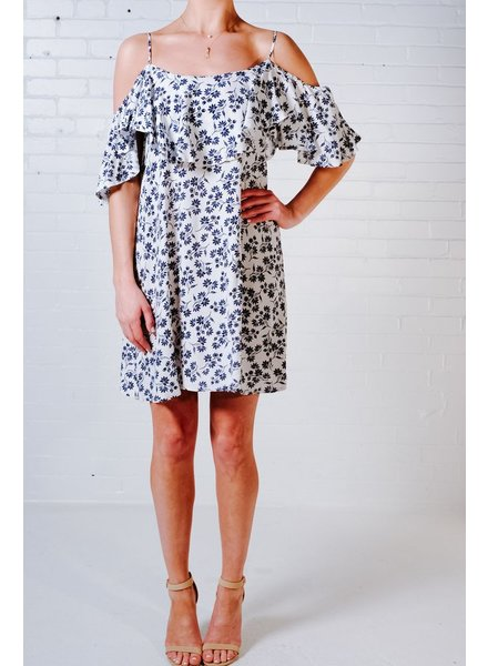 Casual Floral frill dress