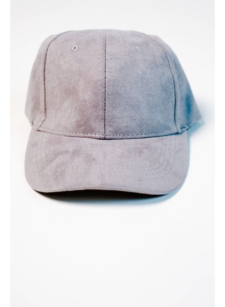 Hat Grey vegan baseball hat