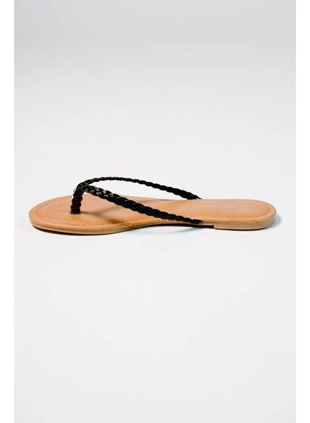 Sandal Braided flip flop