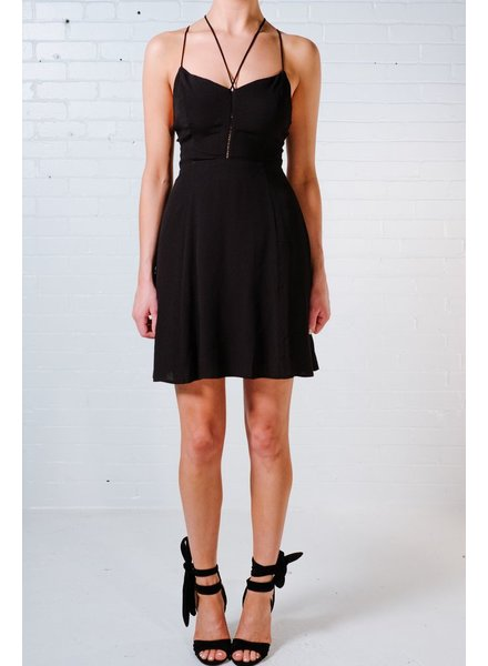 Casual Strappy string a-line dress