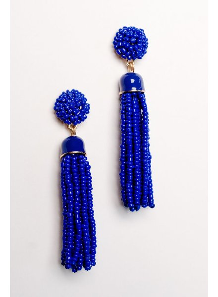 Trend Royal tassel earrings