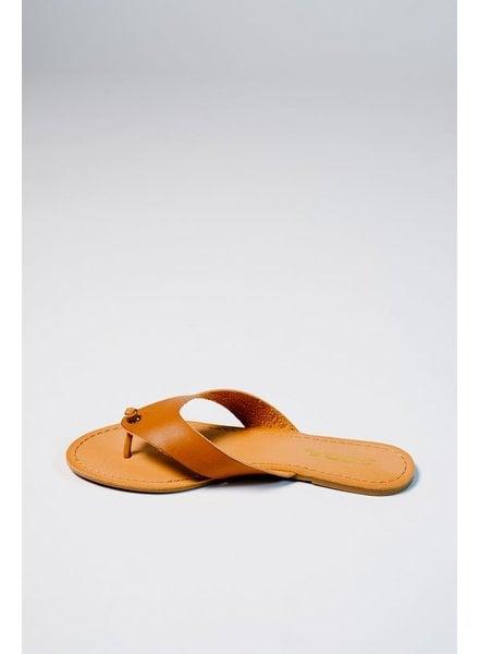 Sandal Laser cut vegan thong
