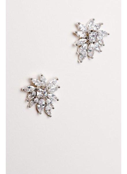 Dressy Large dressy stud earrings