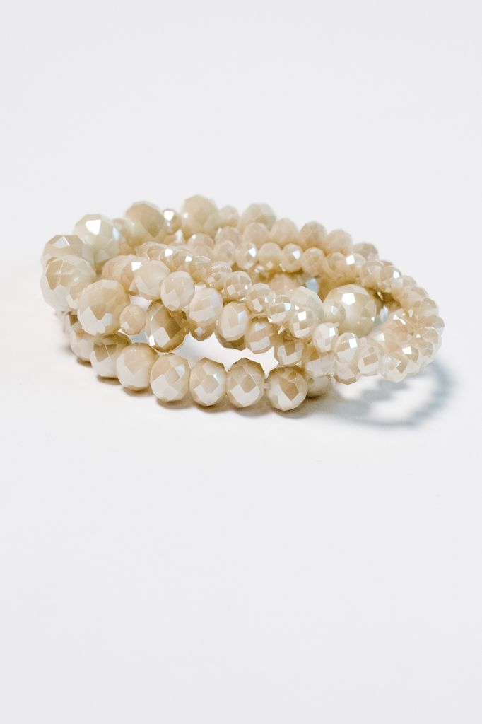 Dressy Dressy beaded bangle set