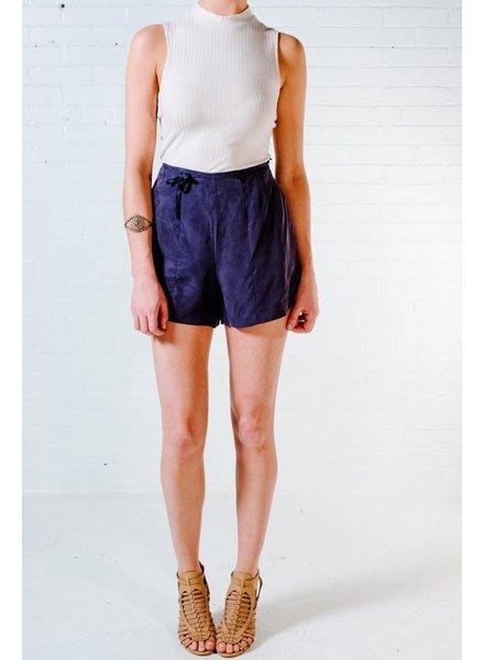 Shorts Navy waist tie shorts