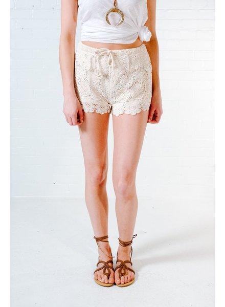Shorts Crochet mini shorts
