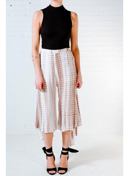 Pants Tie-dye snake culotte