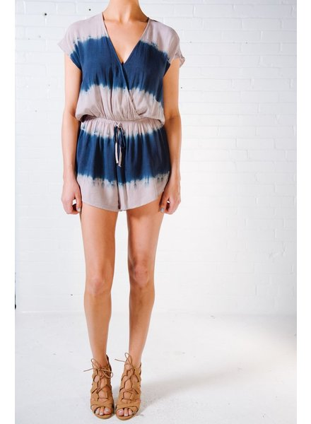 Casual Dip dyed open back romper