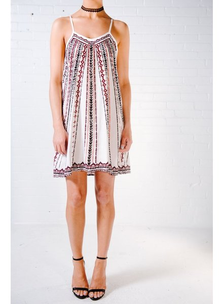Casual Aztec day dress