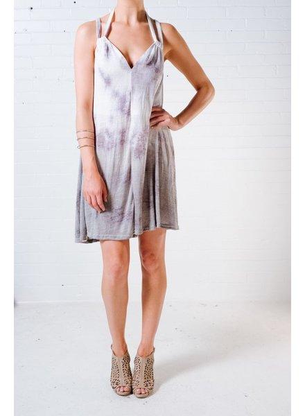 Casual Tie dye halter dress