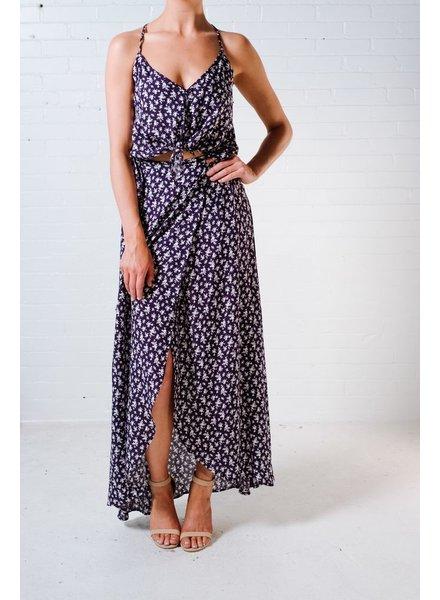 Skirt Coordinating wrap maxi skirt