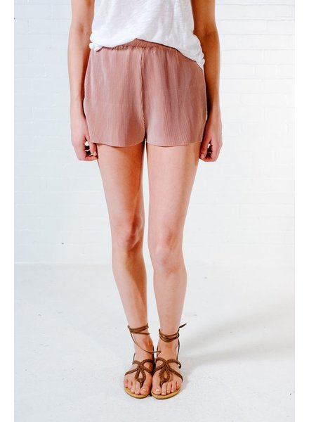 Shorts Rose accordian track shorts