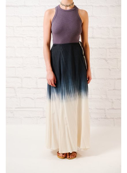 Skirt Dip dyed maxi skirt