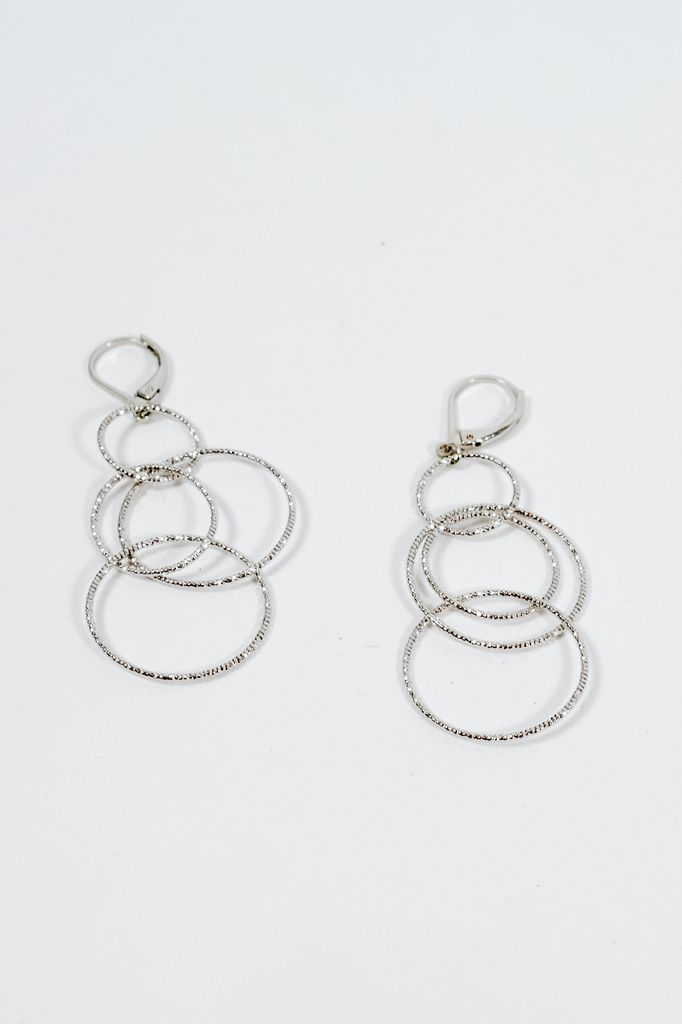 joshua image jewellery earrings james hoop silver from ohmmm uk