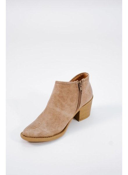 Bootie Taupe ankle booties
