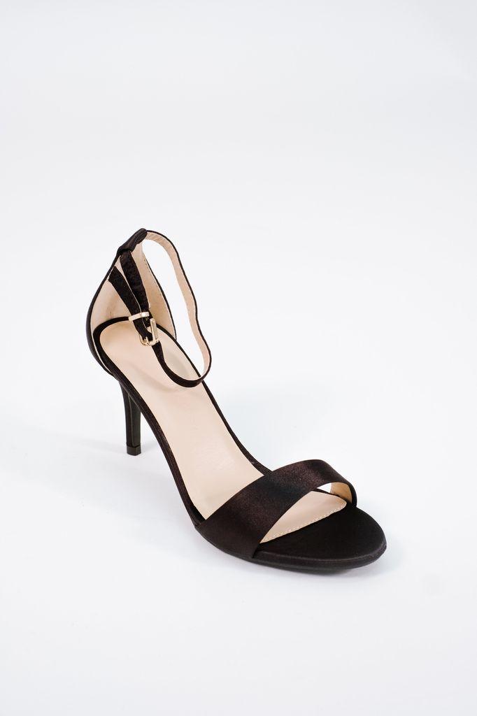 Pump Satin minimal low heel pump