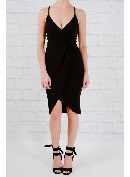 Dressy Simple wrap dress