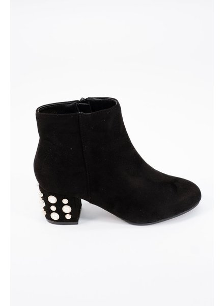 Bootie Pearl embellished bootie