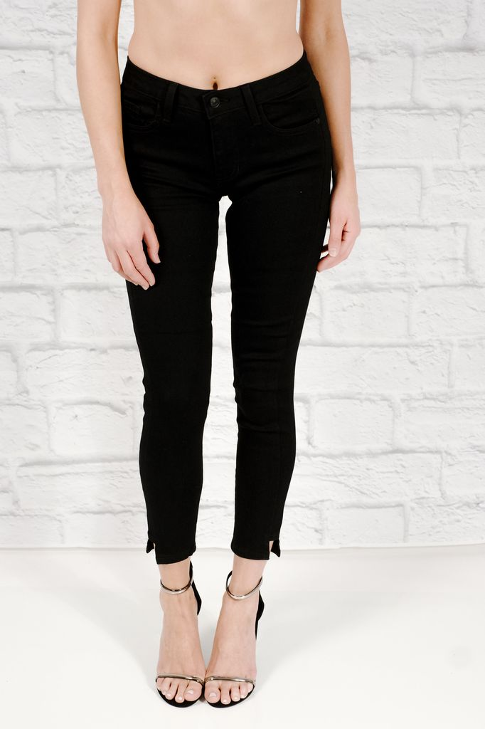 Skinny jeans ankle cut