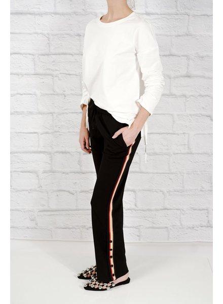 Pants 90s side stripe snap-away pants
