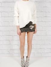 Sweatshirt Bell sleeved sweatshirt
