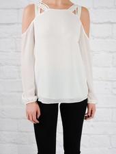 Blouse Caged shoulder blouse