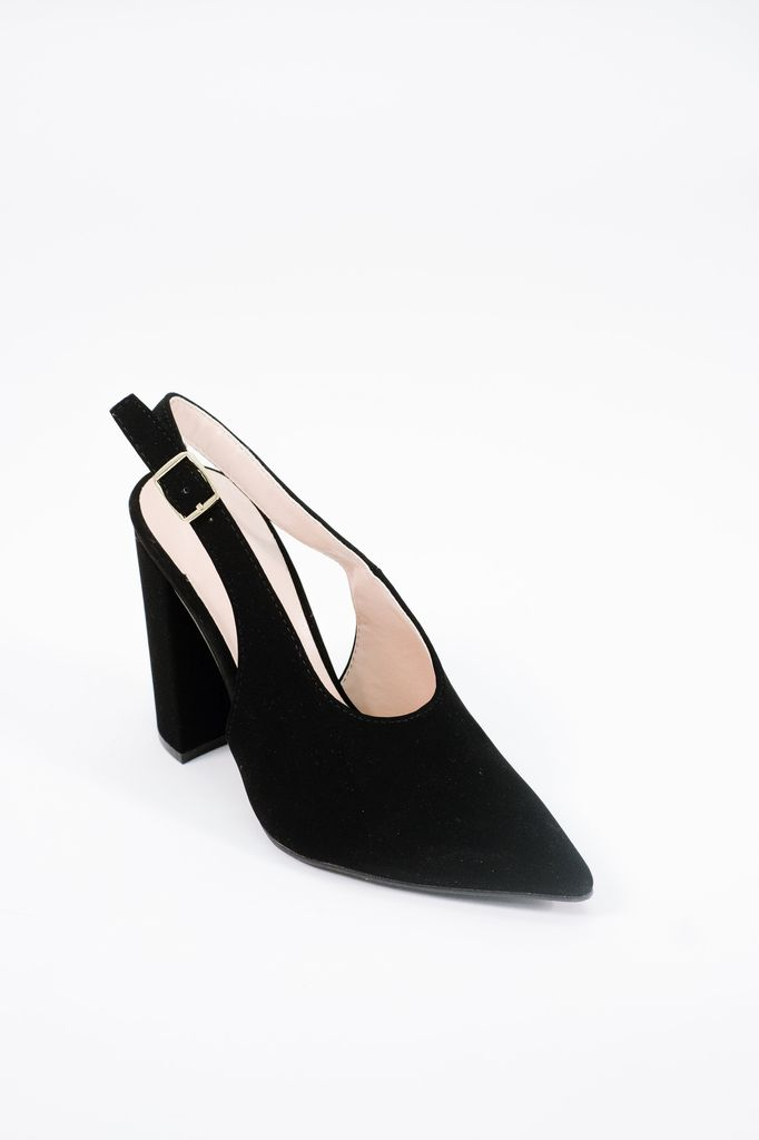 Pump Black sling back shoe
