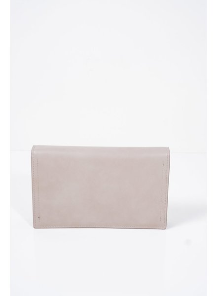 Clutch Grey envelope clutch