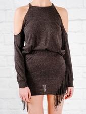 Skirt Coordinating side fringe mini skirt