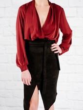 Blouse Back cowl blouse