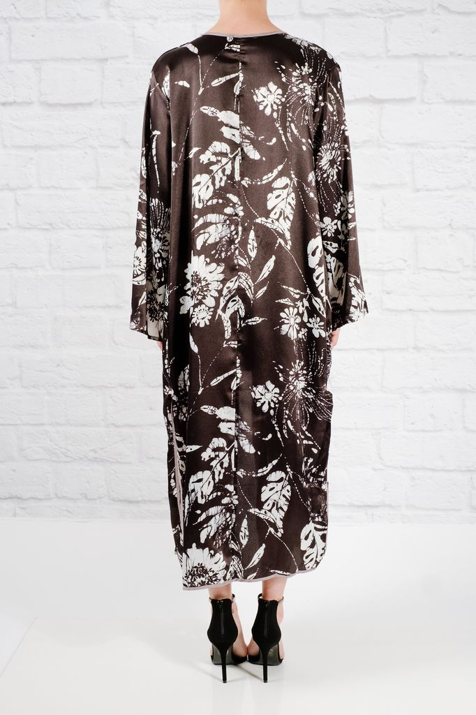 Cardigan Floral maxi kimono