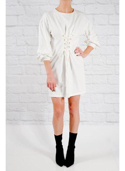 Mini Corset t-shirt dress