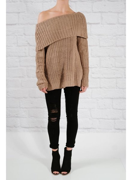 Sweater Mocha OTS favorite sweater