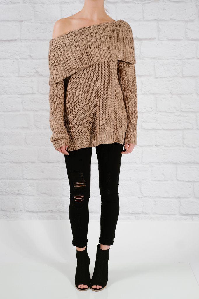 Sweater Mocha OTS favorite sweater