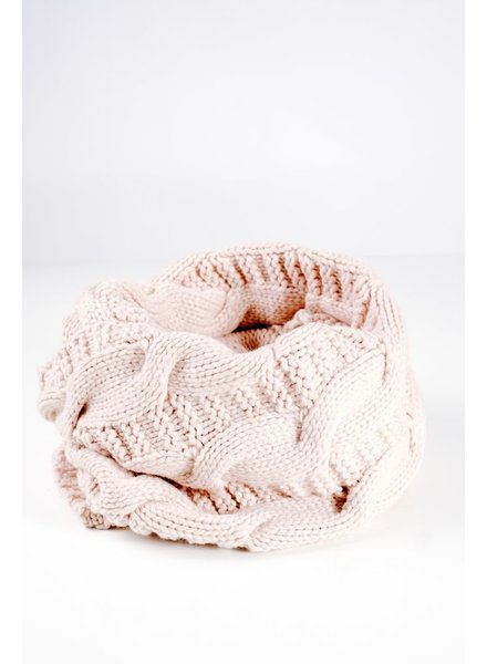 Scarf Cable knit infiniti scarf
