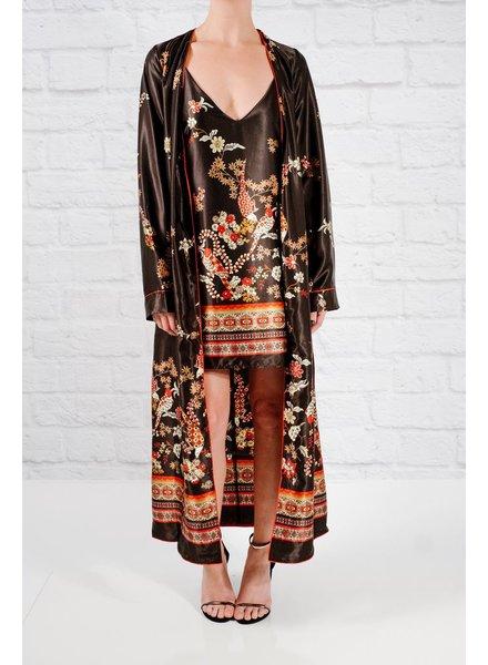 Blazer Printed kimono duster