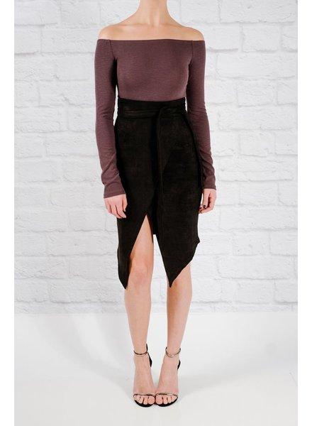 Bodysuit Charcoal ots bodysuit
