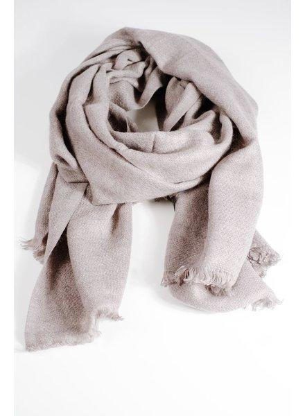 Scarf Grey woven thin scarf