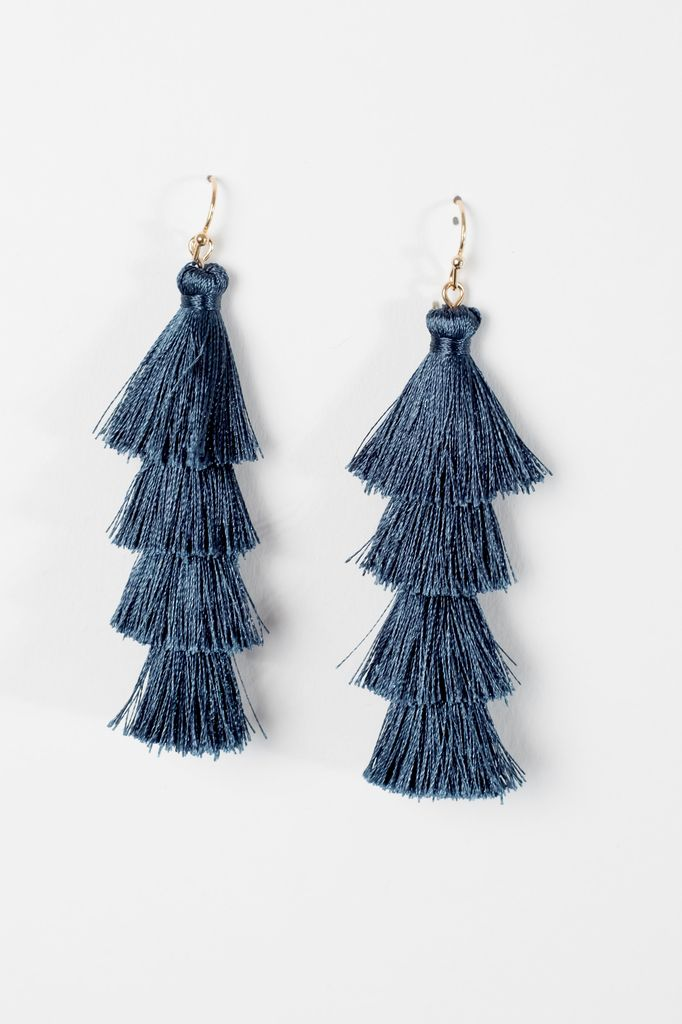 zoom green earrings and product en tassel bead topshop drop f tseu