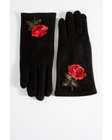 Gloves Rose embroidered gloves