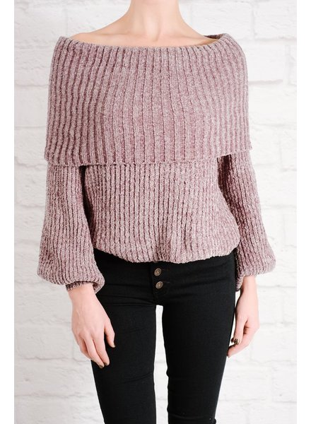 Sweater Grey cozy ots sweater