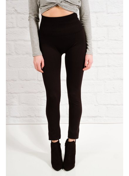 Leggings Ribbed high rise leggings
