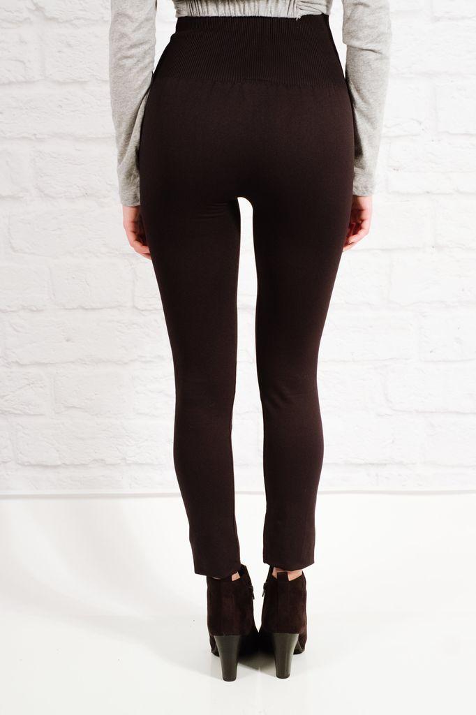 Leggings Ribbed high rise leggings