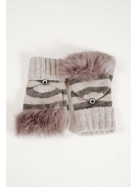 Gloves Optional fingerless gloves