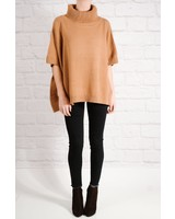 Sweater Burnt orange poncho