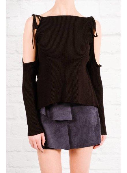 Skirt Navy multi layer mini skirt