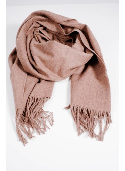 Scarf Taupe woolen scarf